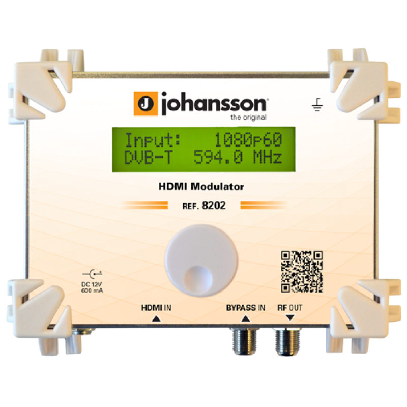 Johansson 8202 modulador TDT
