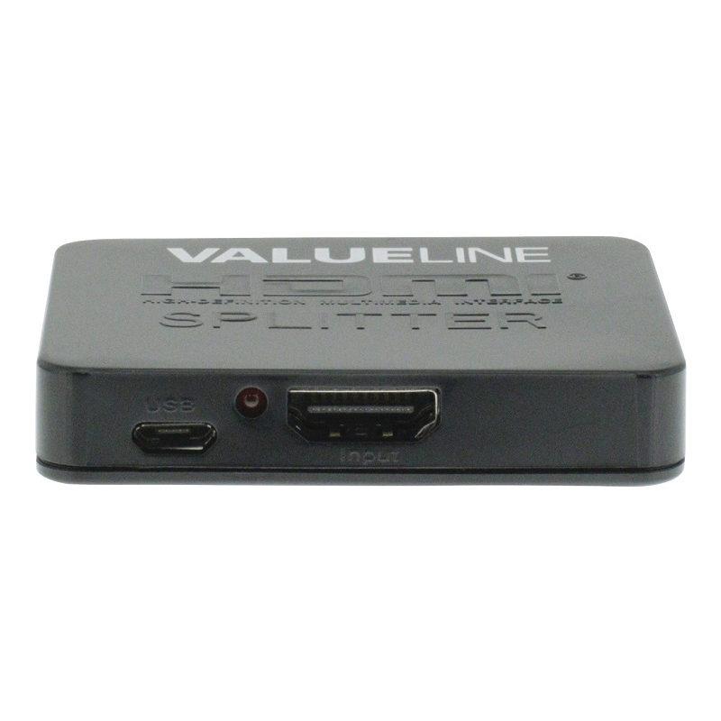 Distribuidor HDMI 2 salidas
