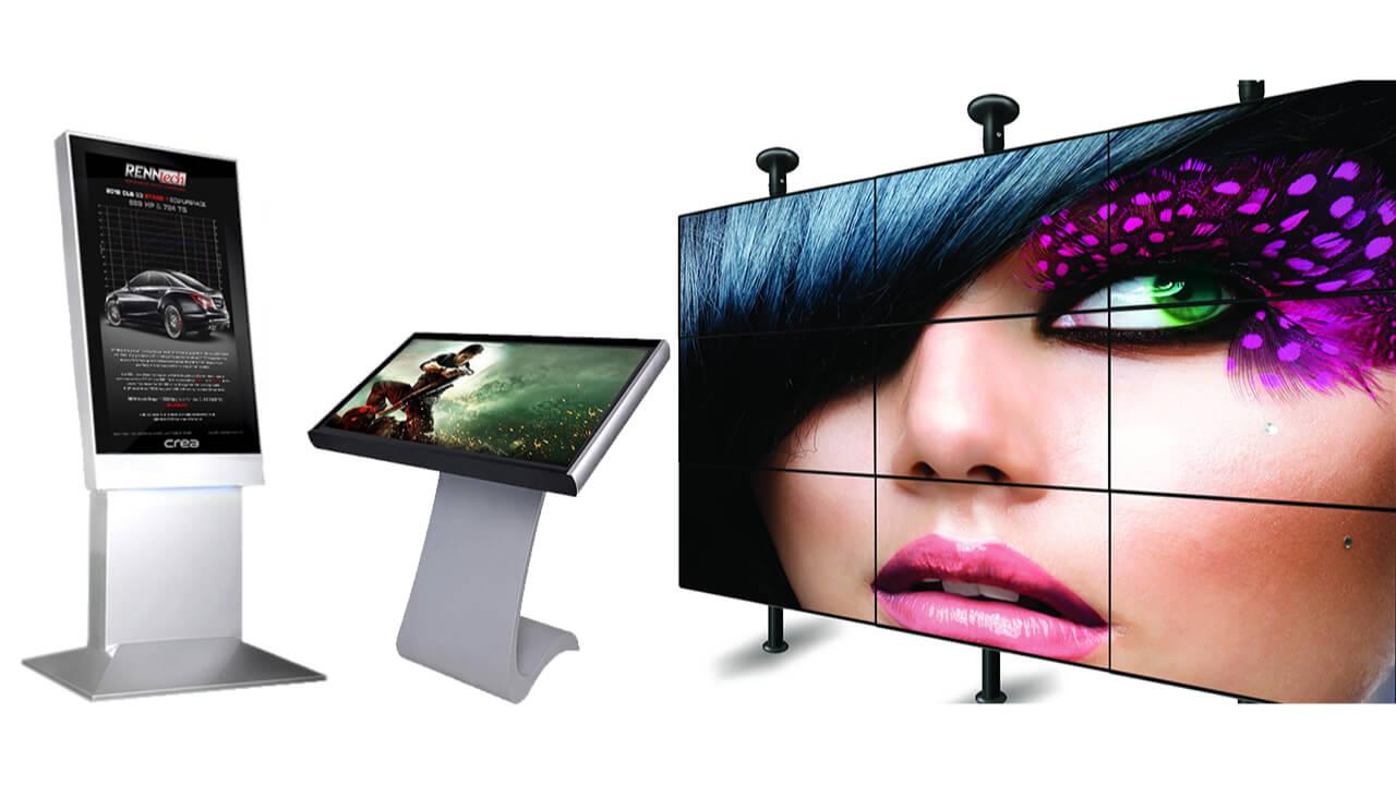 Ejemplos pantallas para publicidad
