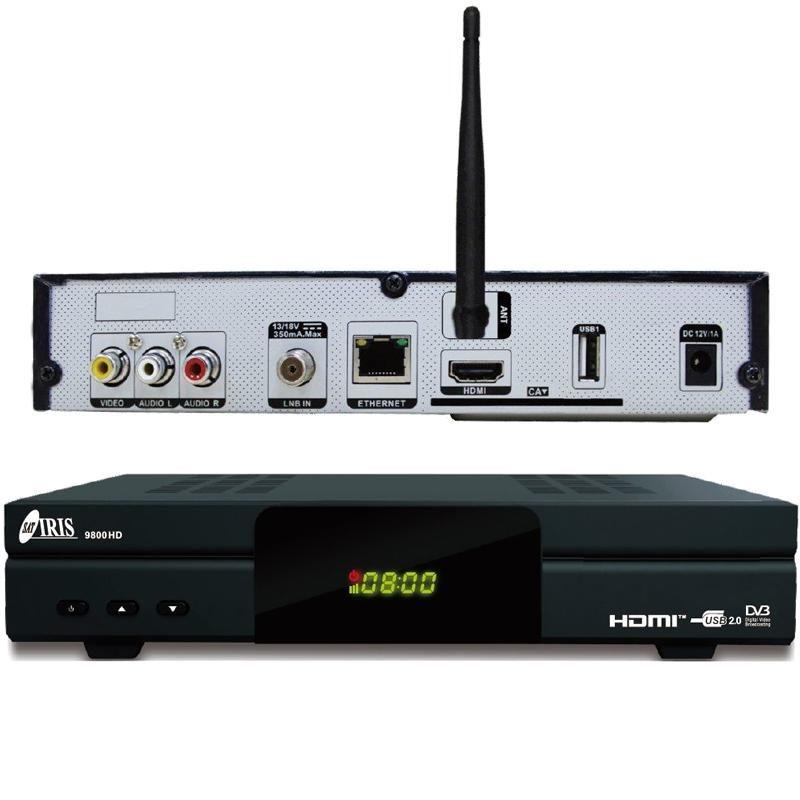Iris 9800HD receptor satélite