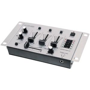 Mesa de mezclas de 3 canales para DJ