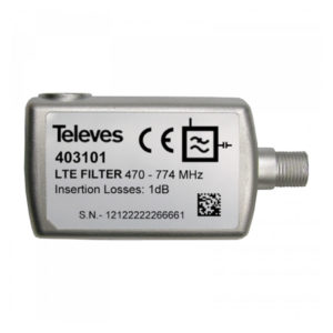 Televes filtro 403101 filtro interior