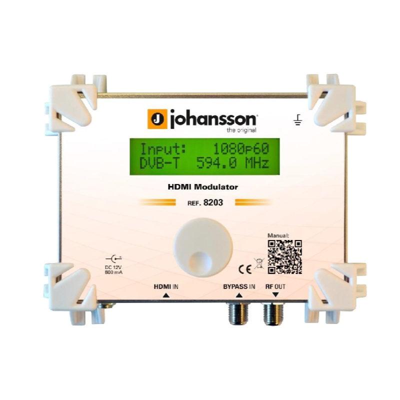 Johansson 8203 modulador alta definición