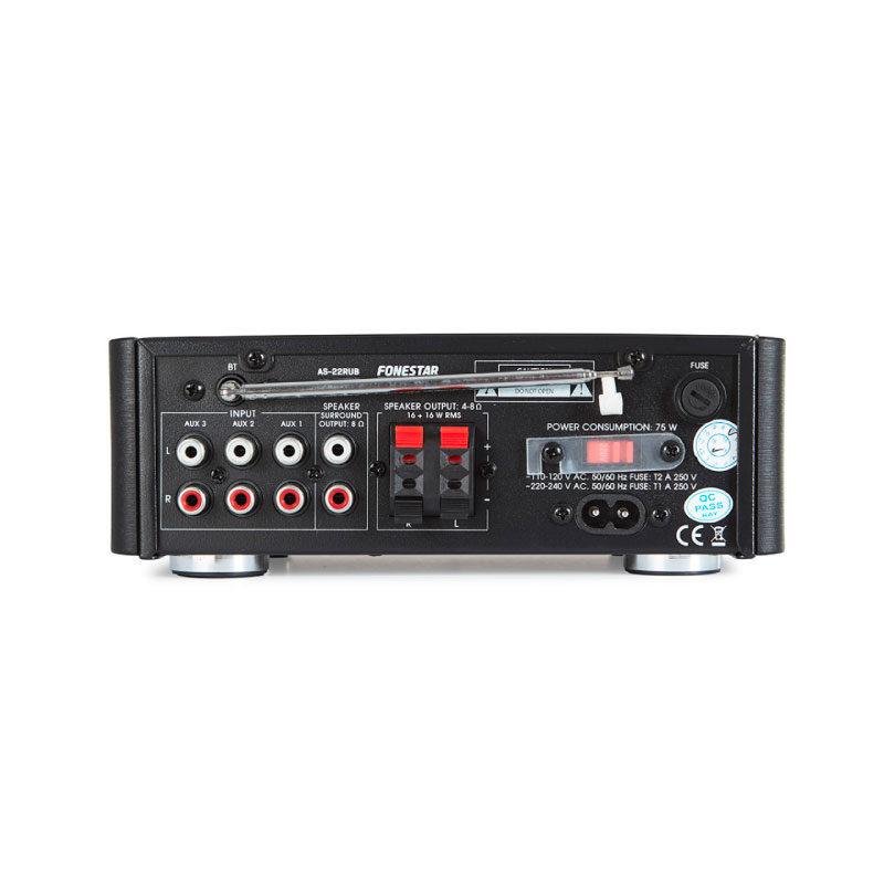 Fonestar AS-22RUB Amplificador HIFI
